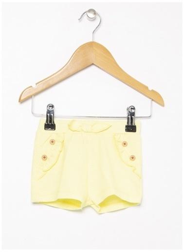 Koton Şort Sarı
